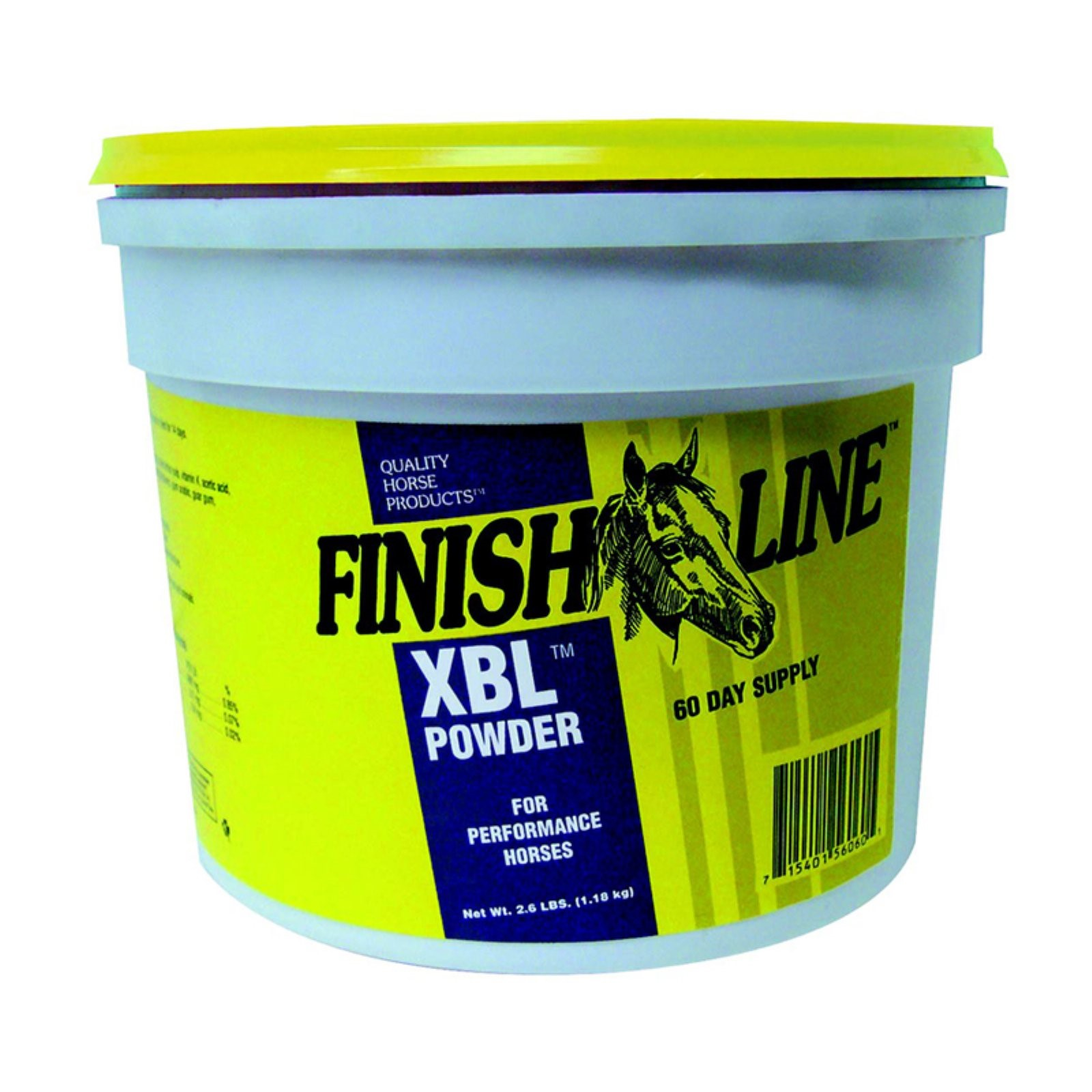 Finish Line XBL Powder Energy & Vitality Support Horse Supplement, 2.6 Lb