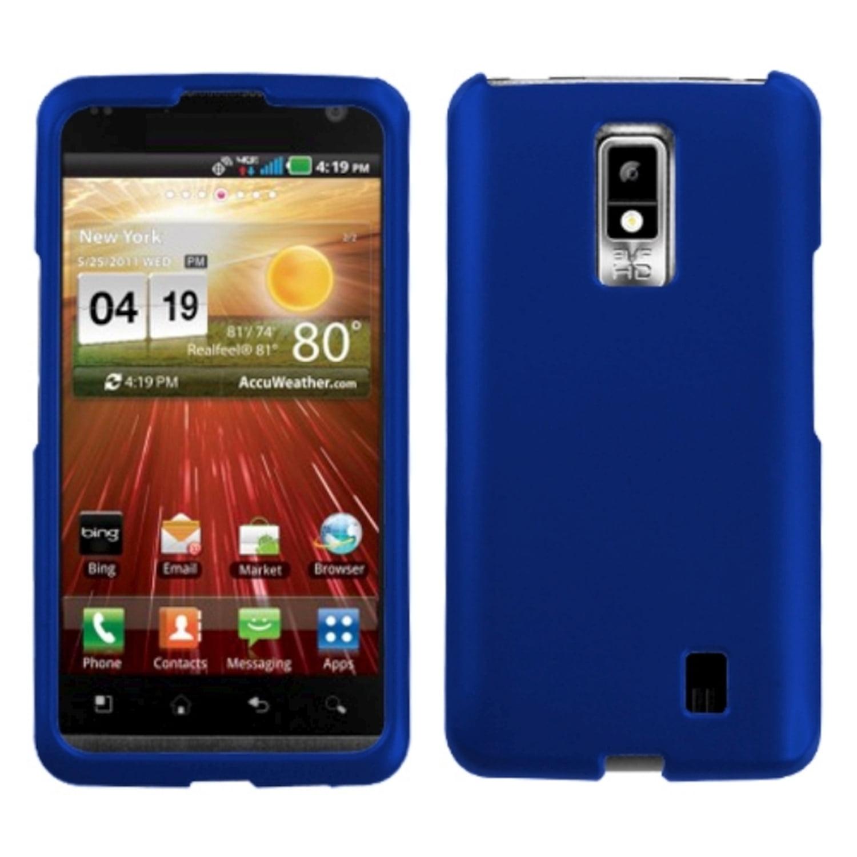 Insten Titanium Solid Dark Blue Phone Case for LG: VS920 (Spectrum)