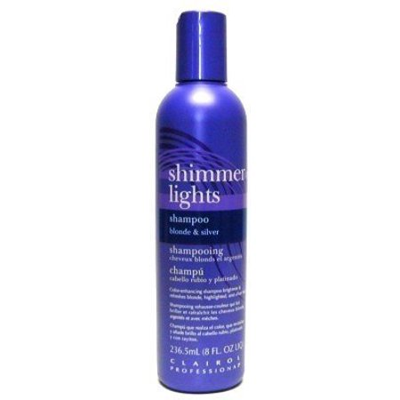 Clairol Shimmer Lights Original Shampoo Blonde and Silver 8 oz. (Case of 6)
