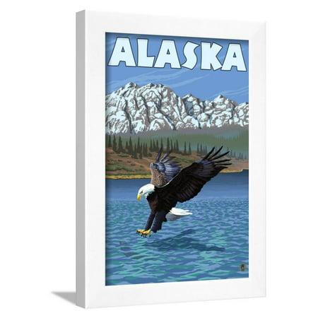 Bald Eagle, Alaska Framed Print Wall Art By Lantern Press