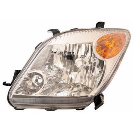 Aftermarket Headlight Lenses (2006-2006 Scion xA  Aftermarket Driver Side Front Head Lamp Lens and Housing)