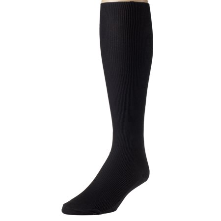 Sportoli Men's Nylon Classic Soft and Lightweight Ribbed Knit Knee High (Lightweight Knee High Socks)