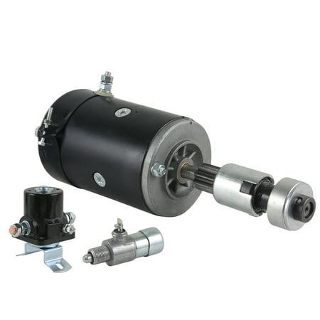 Pontiac Firebird Ignition Starter Switch (NEW 6V STARTER & DRIVE WITH SOLENOID IGNITION SWITCH FIT FORD TRACTOR 2N 8N-11500-WG 8N11500 12323155 SW218 SW355 8N-11001 8N-11001R 8N-11002 9N11001 9N11002 )