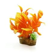 Ceramic Base Plastic Mini Plant Terrarium Habitat for Reptiles Amphibians