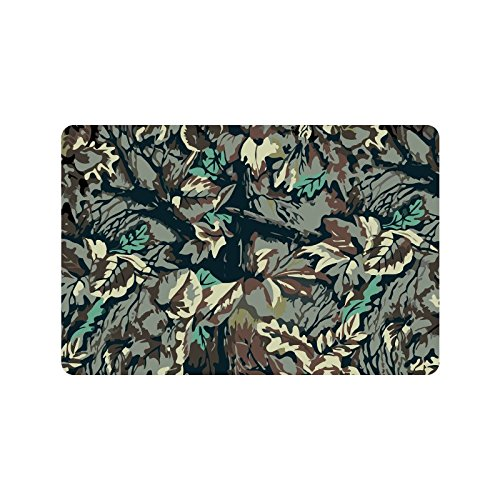 Camo Bathroom Rugs: MKHERT Camouflage Camo Forest Doormat Rug Home Decor Floor