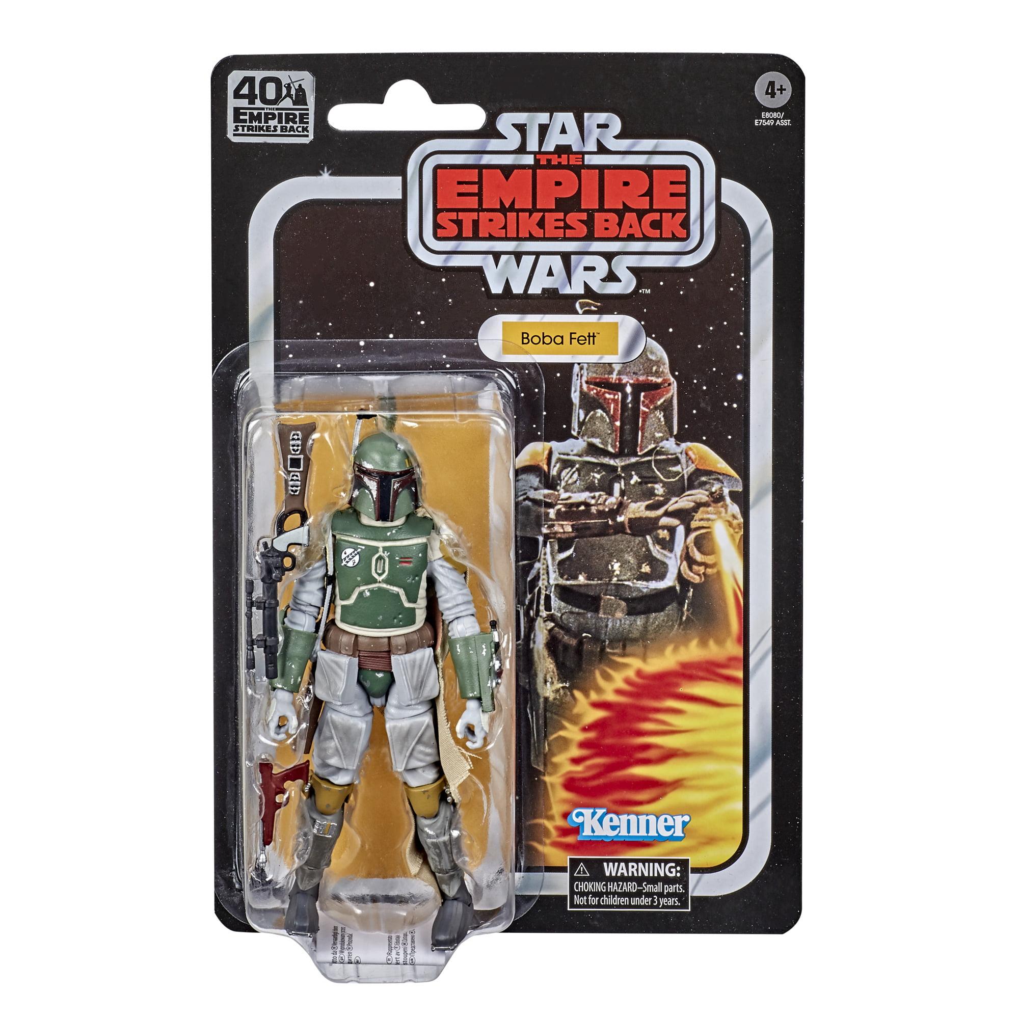 BOBA FETT Star Wars Black Series 40th Empire Strikes Back *Damaged Card*