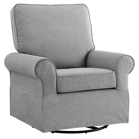 Angel Line Natalie Upholstered Swivel Glider,