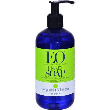 Eo Products HG0173476 12 fl oz Liquid Hand Soap, Peppermint & Tea Tree