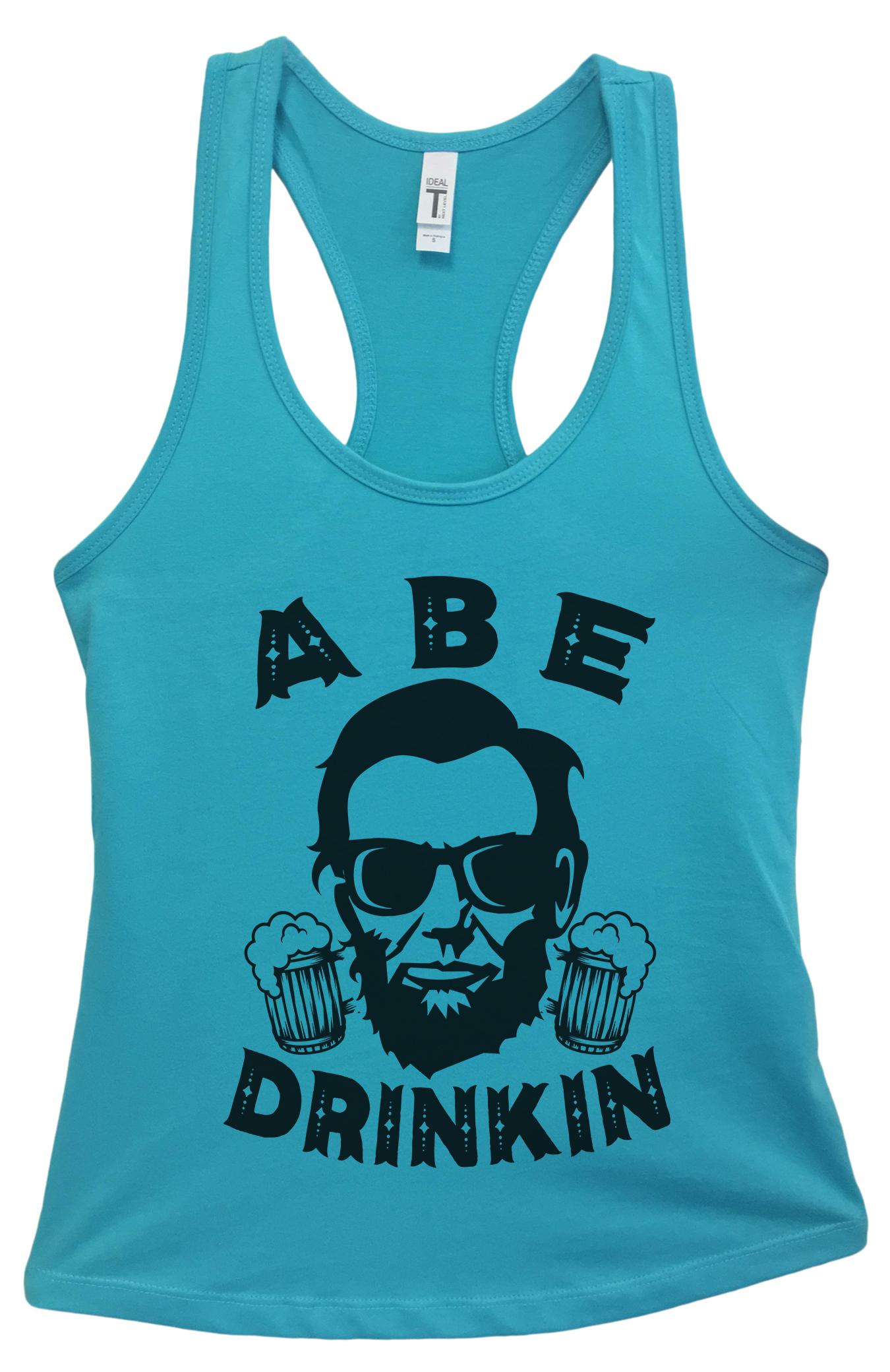 e131bf6dba551 Women s Basic Abraham Lincoln Tank Top