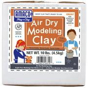 Amaco Air Dry Modeling Clay, 10 lbs., Terra-Cotta
