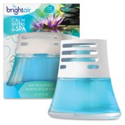 Bright Air Nonelectric Scented Oil Air Freshener - Oil - Calm Water, Spa - 45 Day - 6 / Carton (900115ct)