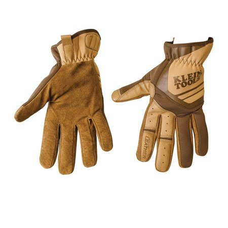 Journeyman Gloves (Journeyman Leather Utility Gloves, Medium 40226, Durable and comfortable By Klein Tools)