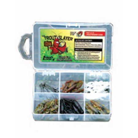 Leland Trout Magnet Kit & Grubs Shad Darts Slayer KIT -28 Piece Made in USA