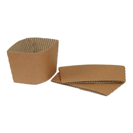 (Price/case)Galligreen 75284 Paper Sleeve For Coffee Cup 1-600 Count](Coffee Sleeves)