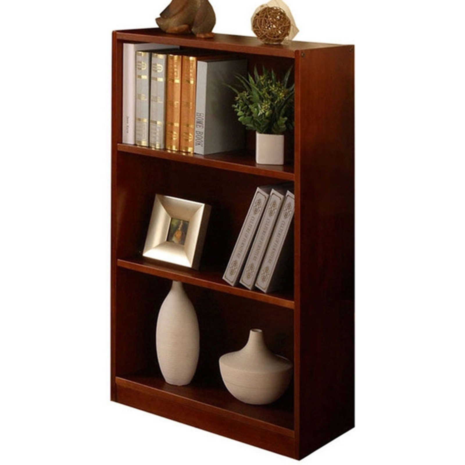 "American Furniture Classics 42"" Bookshelf, Merlot Finish"
