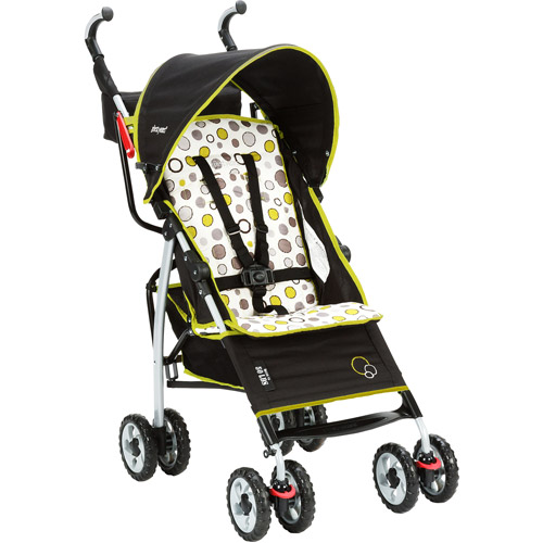The First Years - Ignite Stroller, Abstract O's, Black and Green