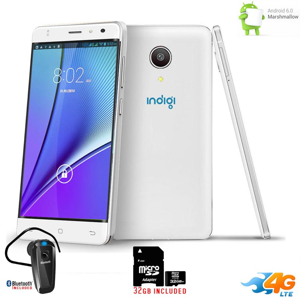 "Indigi® 5"" Android 6.0 2Sim 4G LTE SmartPhone AT StraightTalk + Bundle included"