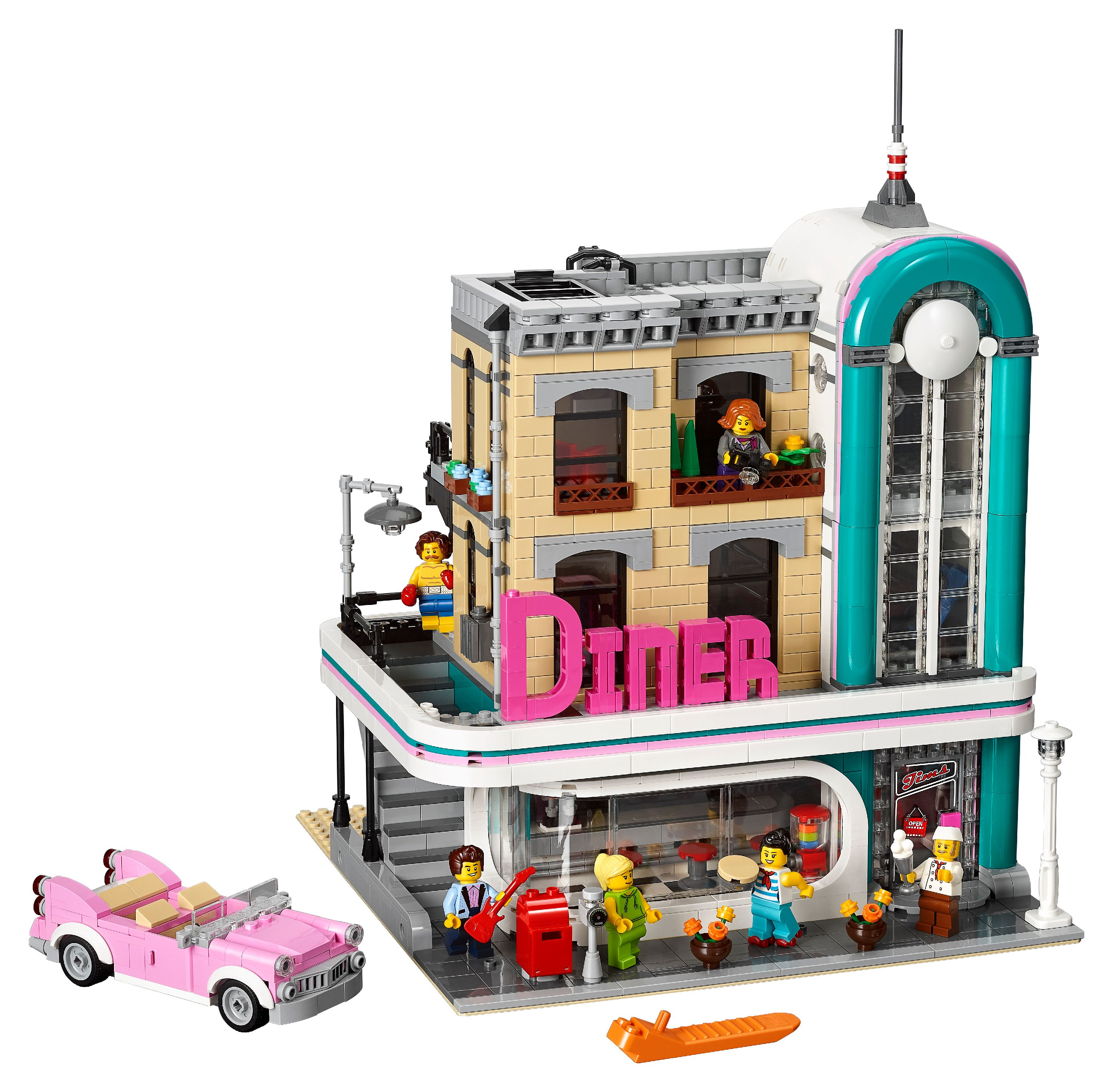Lego Creator Expert Downtown Diner 10260 by LEGO System Inc