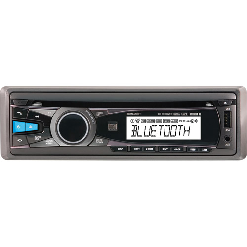 NEW DUAL XDMA550BT SINGLE-DIN IN-DASH CD RECEIVER WITH BLUETOOTH IPHONE
