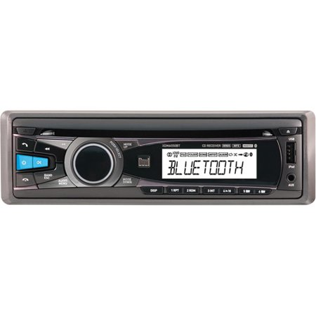 New Dual Xdma550bt Single Din In Dash Cd Receiver With Bluetooth Iphone