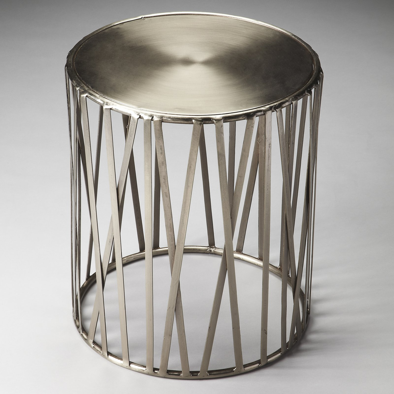 Butler Specialty Industrial Chic Kruse Drum Table
