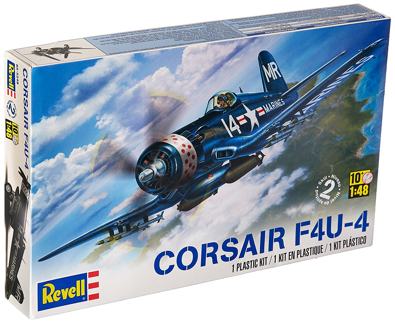 Corsair F4U-4 1:48 Scale, Pilot Separate Set 03955 172 F4U4 With Detailed Parts Highly... by