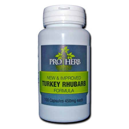 Pro Herb, Turkey Rhubarb 450mg, 100 Capsules