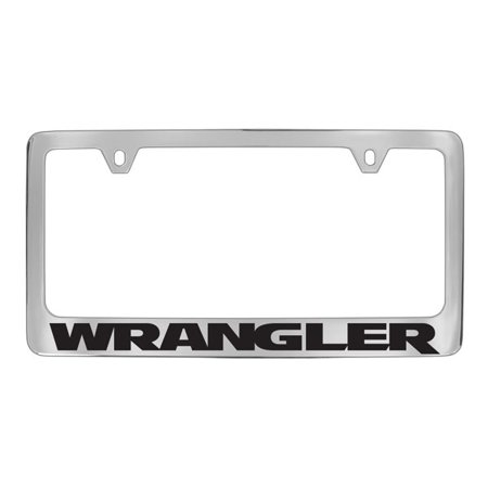 Jeep Compass Chrome Plated Metal License Plate Frame Holder