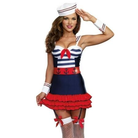 Sailors Delight Costume Dreamgirl 9861 Blue - Sailor Moon Costumes