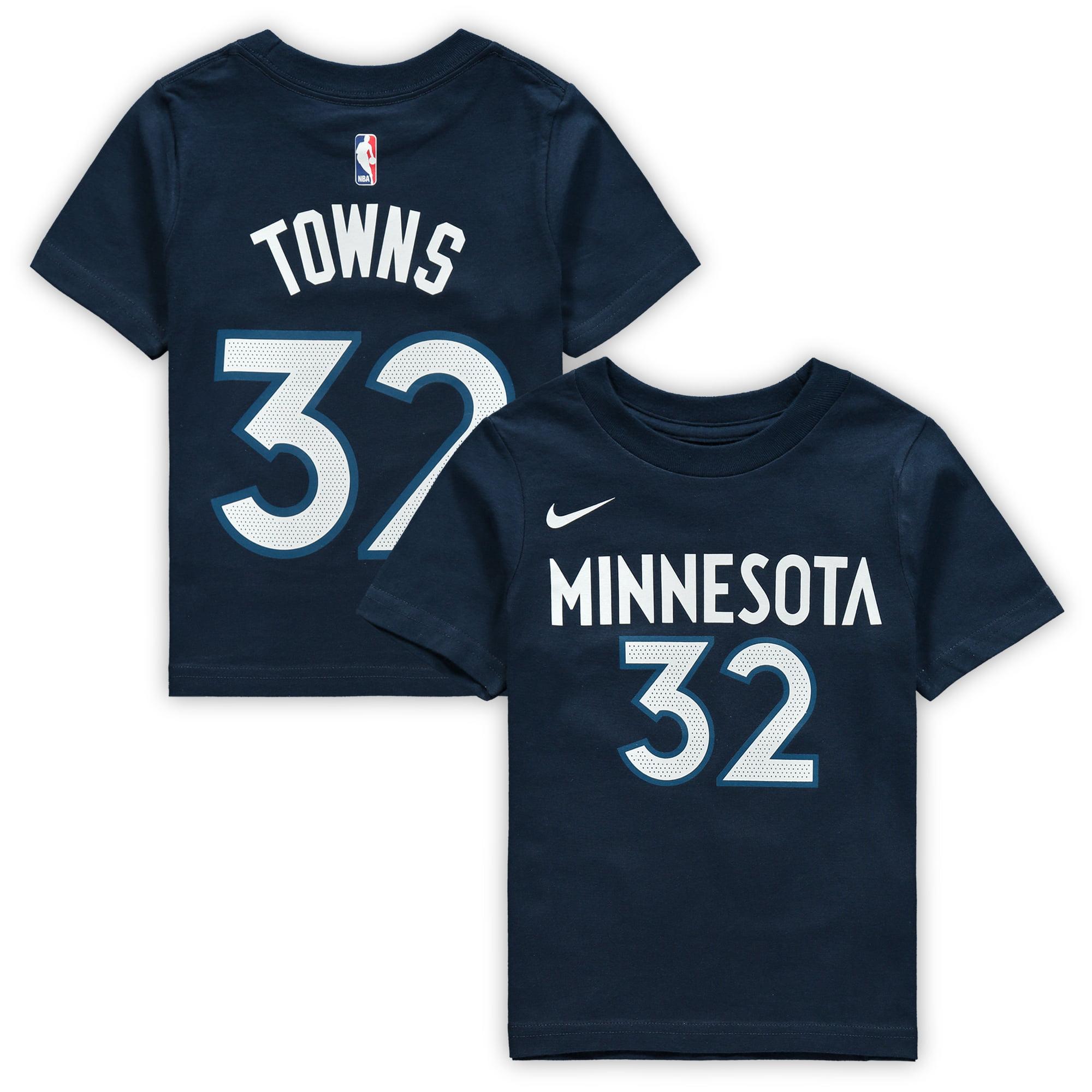 Karl-Anthony Towns Minnesota Timberwolves Nike Toddler Name & Number T-Shirt - Navy
