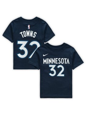 79c94e944 Product Image Karl-Anthony Towns Minnesota Timberwolves Nike Toddler Name    Number T-Shirt - Navy
