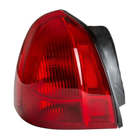 Tyc 11 6146 01 1 Driver Side Tail Light For 03 Lincoln Town Car Fo2800171