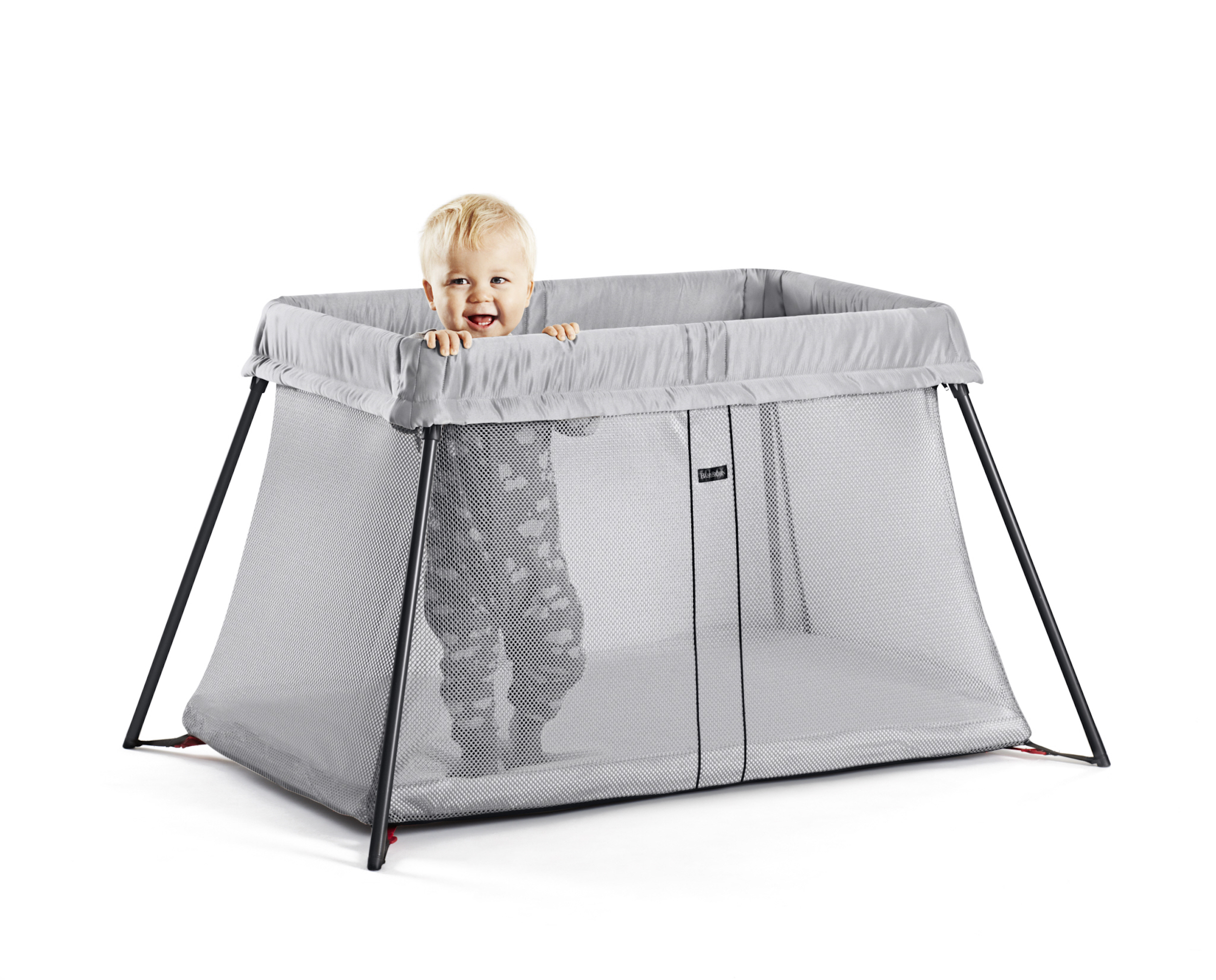 Babybjorn Travel Crib Light Silver Walmart Com Walmart Com