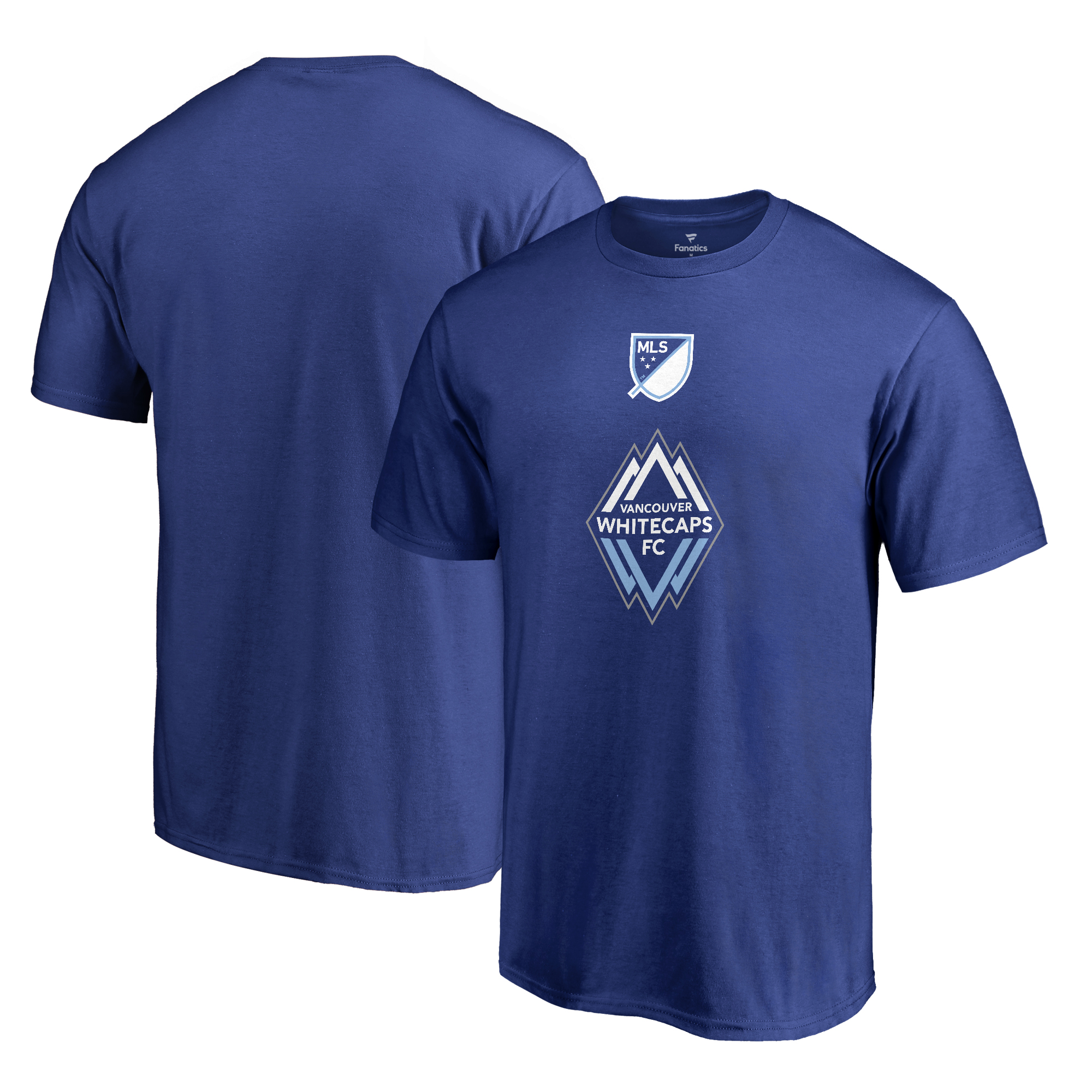 Vancouver Whitecaps FC Fanatics Branded Shielded T-Shirt - Royal