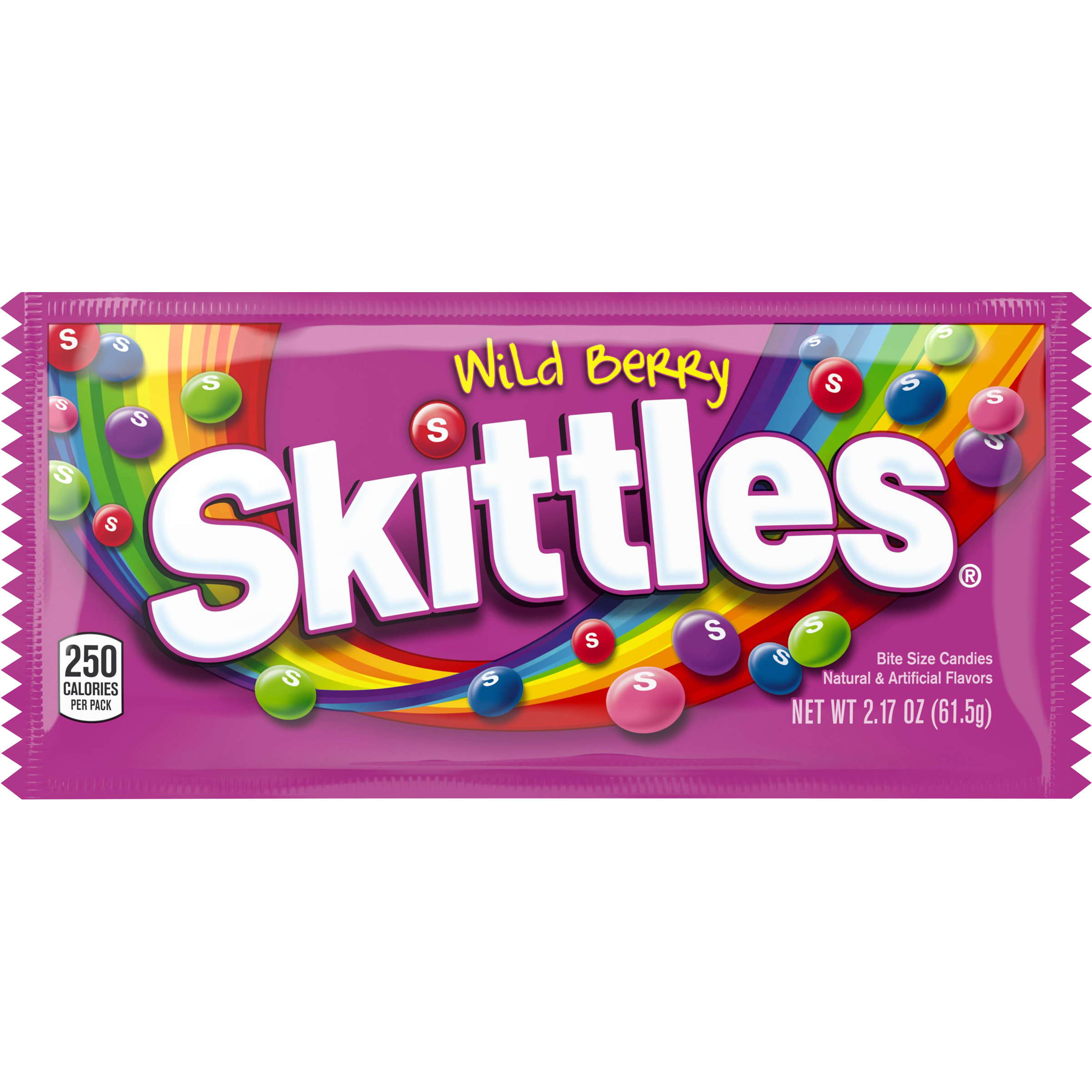 Skittles Wild Berry Candy Single Pack, 2.17 ounce