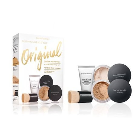 4-Pc. Nothing Beats The Original Get Started Set Medium Beige 12, This 4 piece kit has the essentials you need for a beautifully bare complexion. By Bare Escentuals