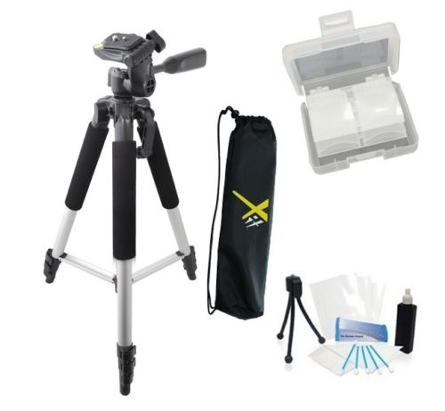 "57"" Tripod + 67"" Monopod + Case For Sony NEX-C3, NEX-5N"