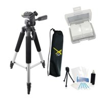 "57"" Tripod + 67"" Monopod + Case For Sony HDR-CX220 HDR-PJ230 HDR-CX230"