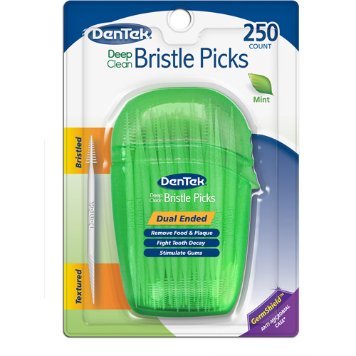 DenTek Deep Clean Bristled Dental Picks, 250ct