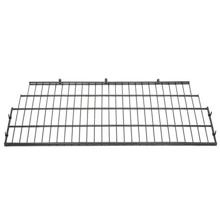 Vertical Rack System - Suncast BMSA7S Vertical Storage Shed Organization Metal Wire Shelf Rack Shelving