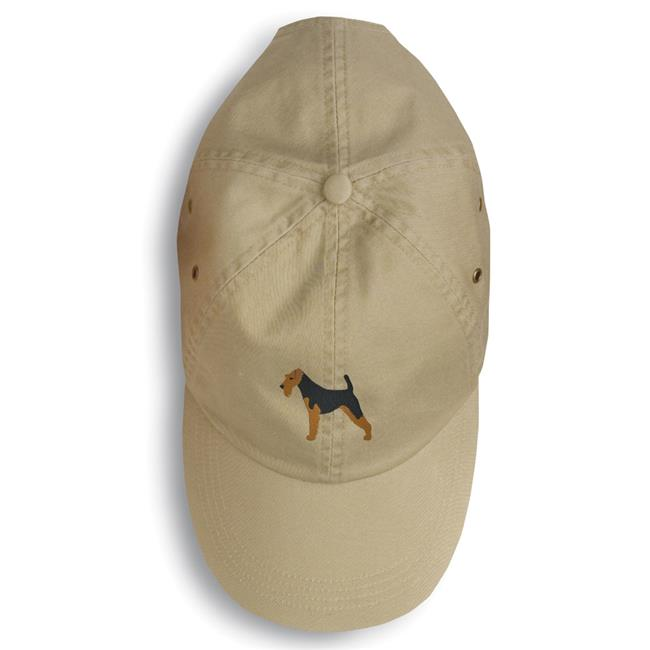 Carolines Treasures BB3385BU-156 Welsh Terrier Embroidered Baseball Cap - image 1 de 1