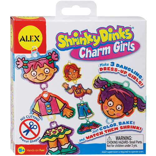 ALEX Toys - Shrinky Dinks Kit, Charm Girls Jewelry
