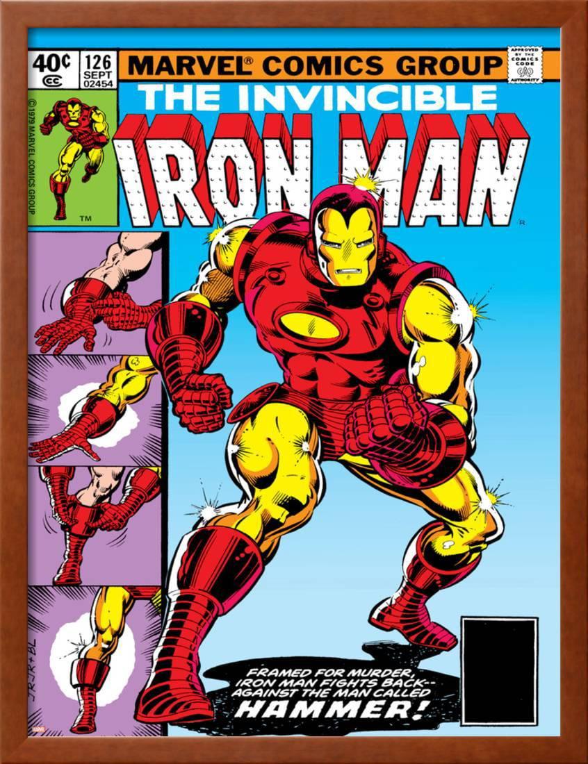 Marvel Comics Retro: The Invincible Iron Man Comic Book Cover No.126 ...