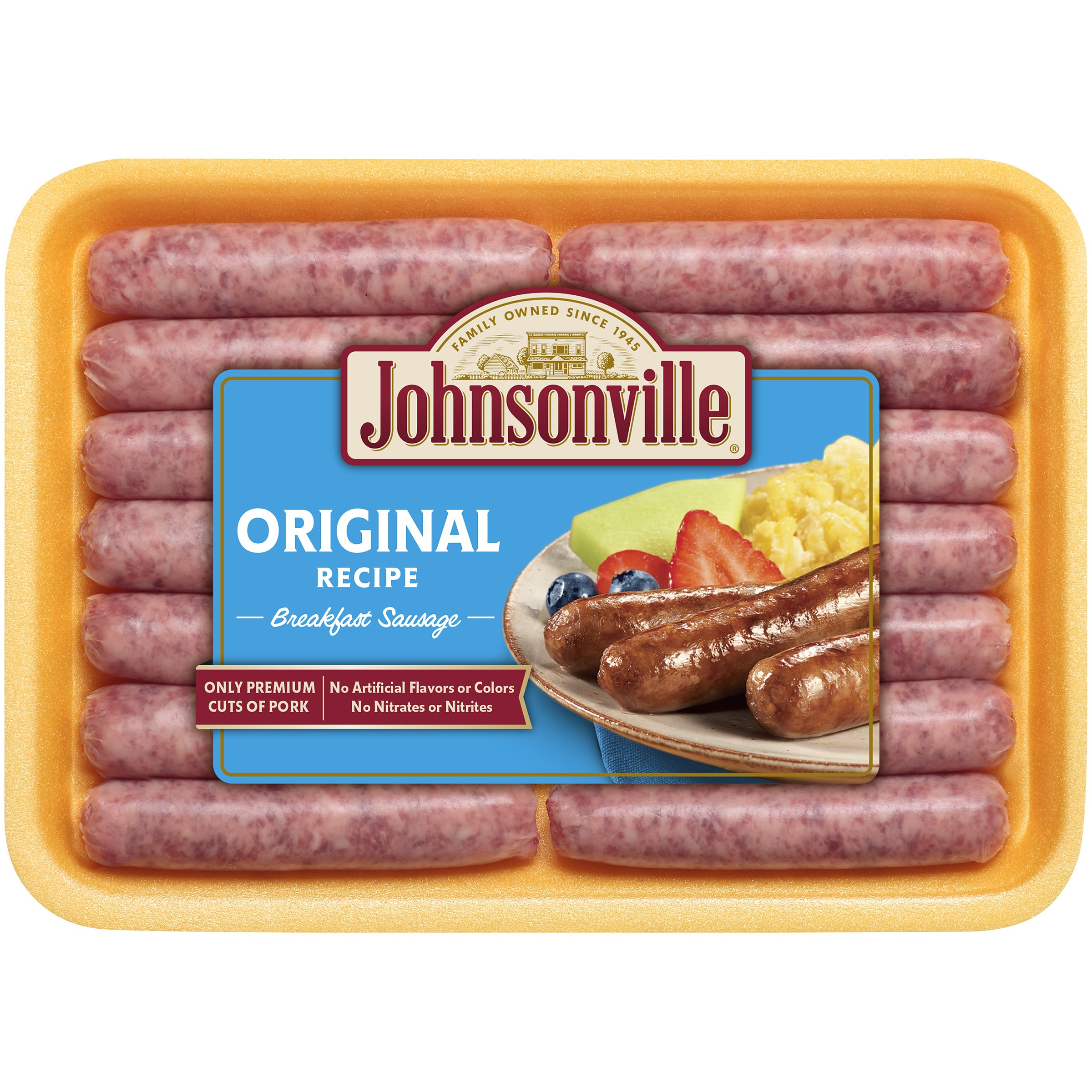 Johnsonville Original Breakfast Links 12oz tray  (100330, 100336, 100342, 100742, 100324)