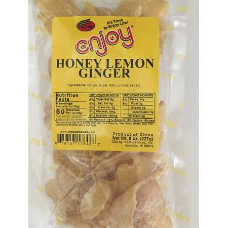 Enjoy Hawaii Honey Lemon Ginger 8 oz. bag (Ginger On Gilligans Island)