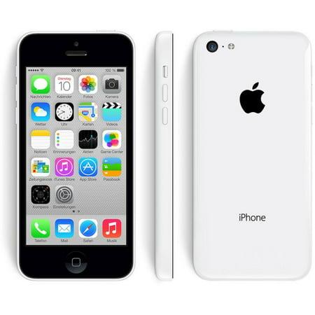 Apple iPhone 5c Verizon + GSM Unlocked White 16GB (Certified Refurbished) ()