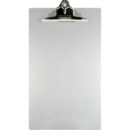 Saunders, SAU22519, Aluminum Round Corner Clipboards, 1 / Each, Silver
