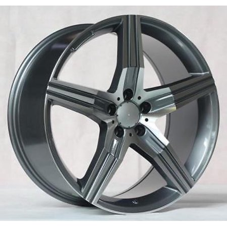 S600 Coupe (20'' wheels for Mercedes S-CLASS COUPE S550 S600 S63 S65 (Staggered)