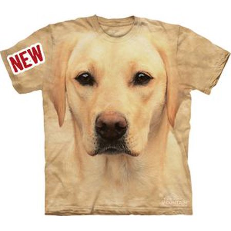 Portrait Adult Tee (Yellow Lab Portrait Adult T-Shirt -)