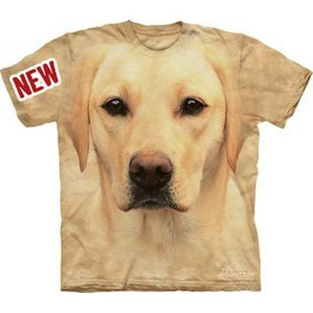 Self Portrait T-shirt - Yellow Lab Portrait Adult T-Shirt - 10-8146